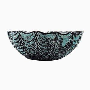 Glazed Stoneware Bowl by Nils Kähler, 1960s