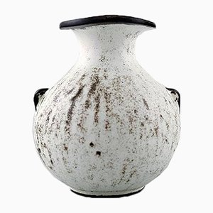 Danish Stoneware Vase by Svend Hammershøi for Kähler, 1930s