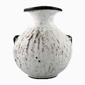 Vase en Grès par Svend Hammershøi pour Kähler, Danemark, 1930s