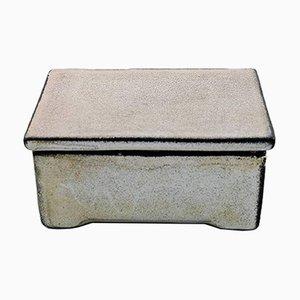 Glasierte Schachtel mit Deckel von Svend Hammershøi für Kähler, 1930er