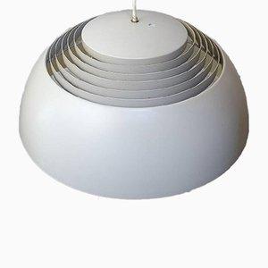 Lampada a sospensione AJ in metallo laccato di Arne Jacobsen per Louis Poulsen, anni '60