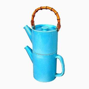 Zweiteilige Vintage La Colorado Teekanne von Stig Lindberg für Gustavsberg