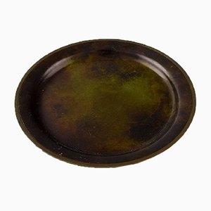 Scodella in bronzo di Just Andersen, anni '40