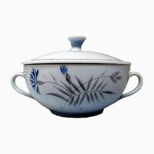 Tasses à Soupe Bleuet de Bing & Grondahl, 1950s, Set de 7