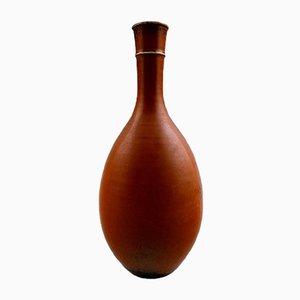 Vintage Drejargods Keramikvase von Stig Lindberg für Gustavsberg