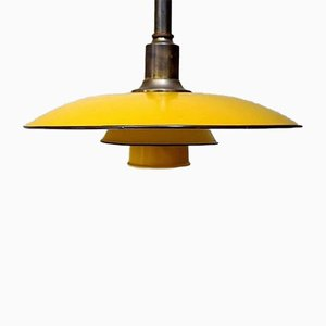PH 3 1/2 Two-Pendant Lamp with Brass Socket by Poul Henningsen for Louis Poulsen, 1930s