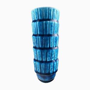 Vintage Vasen aus Schamotte von Gunnar Nylund für Rörstrand, 2er Set