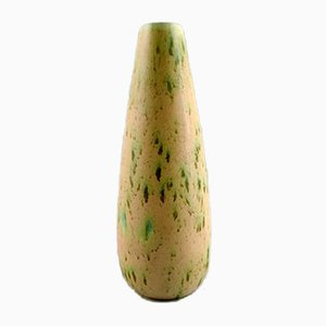 French Glazed Ceramic Vase, 1940s