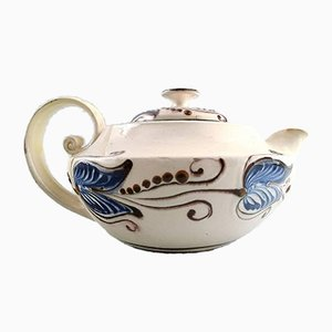 Glazed Stoneware Teapot from Kähler, 1930s