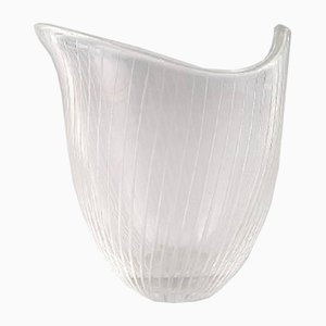 Finnish Glass Vase by Tapio Wirkkala for Iittala, 1960s