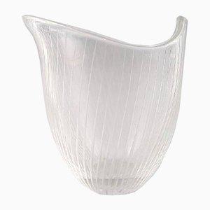 Vaso in vetro di Tapio Wirkkala per Iittala, Finlandia, anni '60