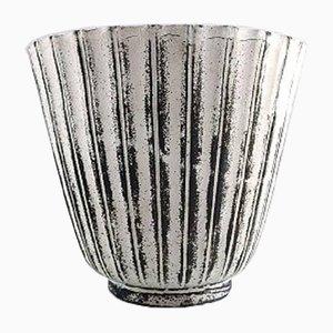 Vaso in ceramica smaltata di Svend Hammershøi per Kähler, Danimarca, anni '30
