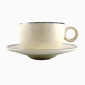 Birka Kaffeeservice von Stig Lindberg für Gustavsberg, 1960er
