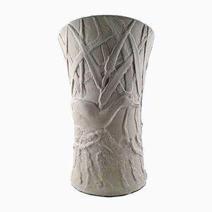 Large Stoneware Vase by Hugo Liisberg for Saxbo, 1930s