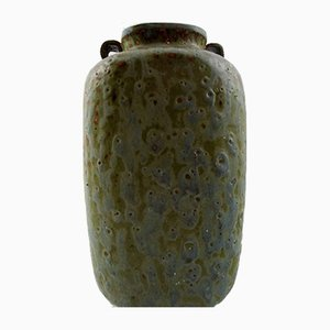 Market AB 121 Pottery Vase by Arne Bang, 1940s