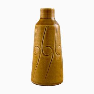 Glazed Ceramic Vase by John Andersson for Höganäs, 1970s