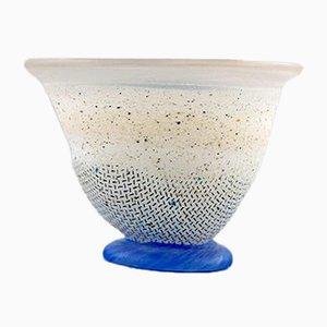 Vintage Swedish Art Glass Vase by Ulrica Hydman Vallien for Kosta Boda, 1980s