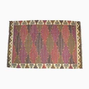 Large Swedish Wool Handwoven Carpet by Märta Måås-Fjetterström, 1941