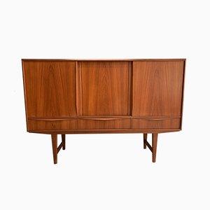Dänisches Mid-Century Sideboard aus Teakholz von EW Bach, 1960er