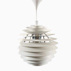 Vintage Louvre Pendant Lamp by Poul Henningsen for Louis Poulsen
