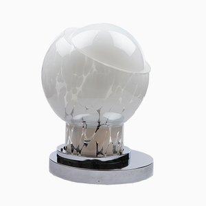 Italienische Tischlampe aus geblasenem Glas von Mazzega, 1970er