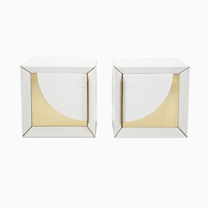 Nightstands by Luciano Frigerio for Frigerio Desio, 1980s, Set of 2