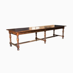 Antique French Chestnut Dining Table