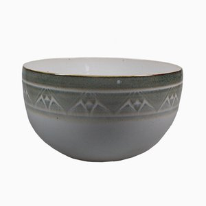 Vintage Porcelain Bowl by Geert Schreuder, 1980s