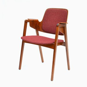 Mid-Century Teak Armchair by Elias Barup for Gärsnäs, 1950s