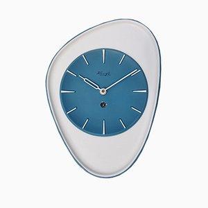 German Ceramic Clock from Kienzle International, 1950s