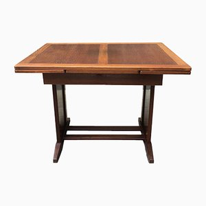 Antique Swedish Extendable Oak Dining Table