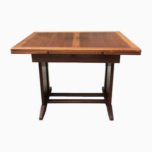 Tavolo da pranzo antico allungabile in legno di quercia, Svezia
