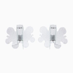Wall Lamps from Mazzega, 1970s, Set of 2