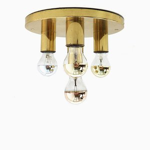 Brass Ceiling Light, 1970s