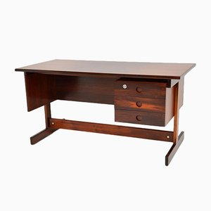 Rio Rosewood Clara Desk by Sergio Rodrigues for OCA, 1960s
