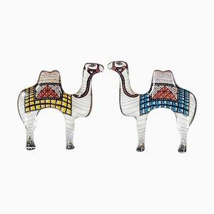 Camel Sculptures by Abraham Palatnik, 1970s, Set of 2