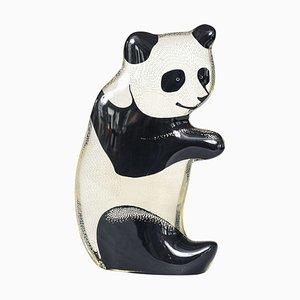 Lucite Panda by Abraham Palatnik, 1970s