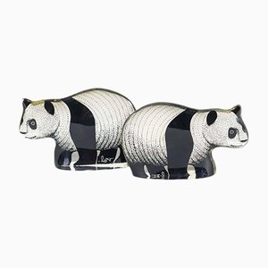 Lucite Panda Sculptures by Abraham Palatnik, 1960s, Set of 2