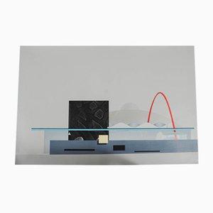 Vintage Silkscreen by Rem Koolhaas, 1987