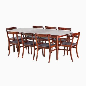 Rungstedlund Rosewood Dining Room Set by Ole Wanscher for Poul Jeppesens Møbelfabrik, 1960s