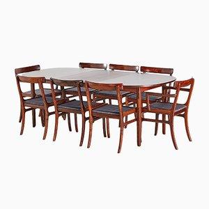 Set da pranzo Rungstedlund in palissandro di Ole Wanscher per Poul Jeppesens Møbelfabrik, anni '60