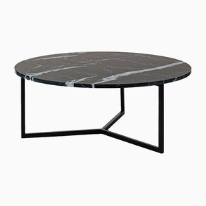 Table Basse Ovale Noire par Un'common