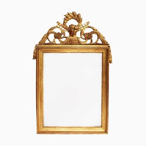 Antique French Empire-Style Giltwood Mirror
