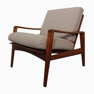Scandinavian Modern Lounge Chair by Arne Wahl Iversen for Komfort, 1960s
