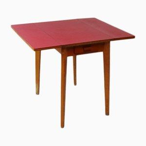 Tavolo da pranzo Mid-Century in quercia e formica, anni '60