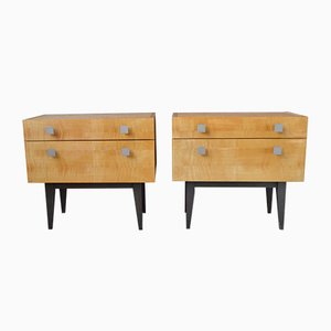Modernist Nightstands, 1960s, Set of 2