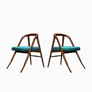 Scandinavian Modern Side Chairs from Organic Moderism, 2009, Set of 2