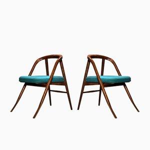 Skandinavische moderne Beistellstühle von Organic Moderism, 2009, 2er Set
