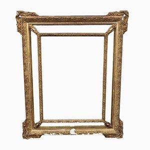 Miroir Antique avec Cadre Doré, France