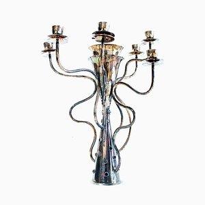 Versilberter Kerzenhalter von Bořek Šípek für Driade, 1991